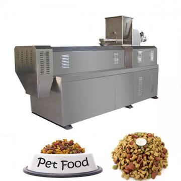 Big Scale Dog Cat Pet Food Processing Line / Equipment High Protein Vitamin