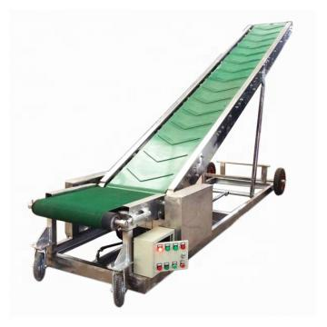 Incline Vertical Screw Small Idler Roller Belt Conveyor for Sale