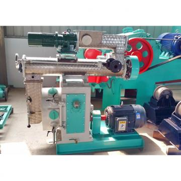 Industry Wood Pellet Making Machine / Vertical Ring Die Feed Pellet Mill