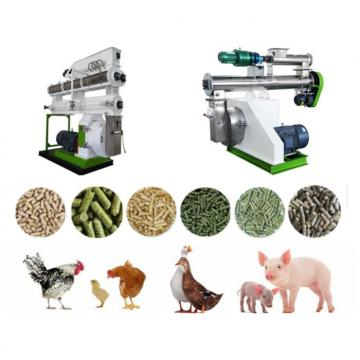 Manufacture Ce Approved Animal Feed Pellet Production Line