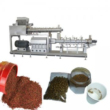 High Output Fish Feed Extruder Machine Made From Corn Wheat Customized