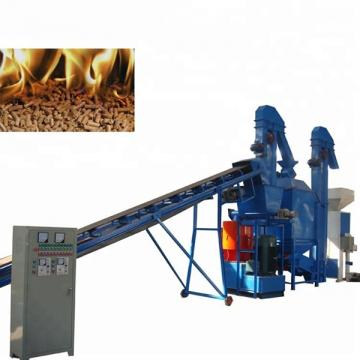 Wood Pellet Production Line 6 - 12mm Pellet Diameter Uniform Pressing Design