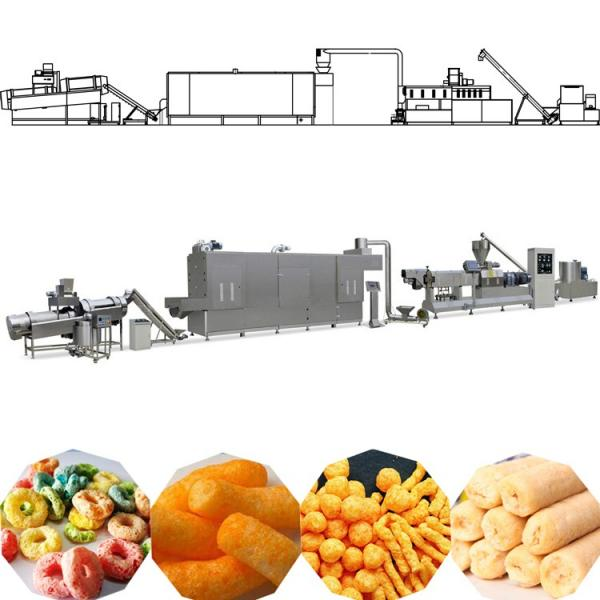 Snack bar twin screw extruder prices puffed corn chips snacks food making machine puff snack food extrusion machine price #1 image