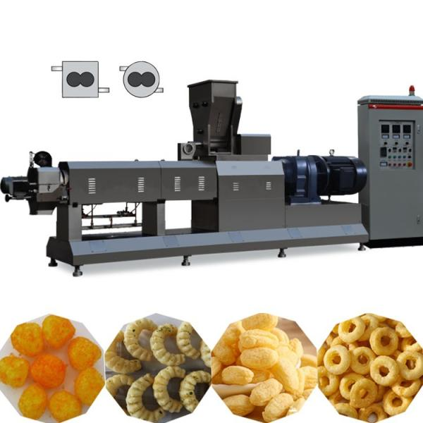 Twin Screw Extruder Puffed Corn Snack Making Machine Snack Food Processing Line #3 image