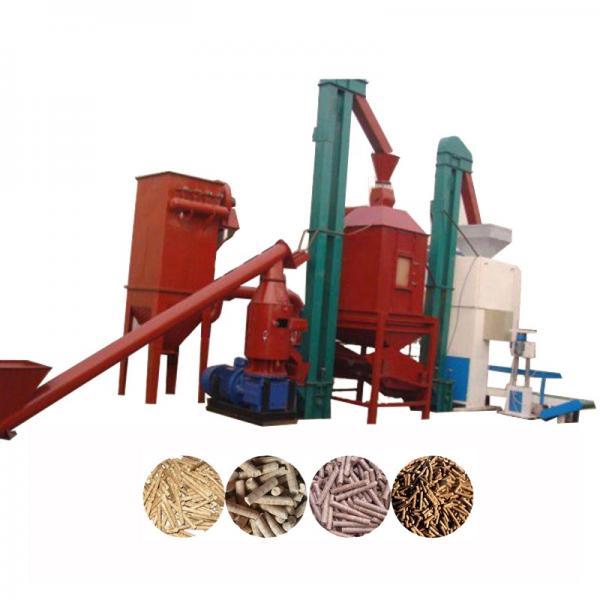 Hot sale CE certification 2.5-3.5T/h complete wood pellet machine pellet production line #2 image