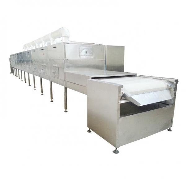 Continous working microwave industrial glass pigment drying equipment #2 image