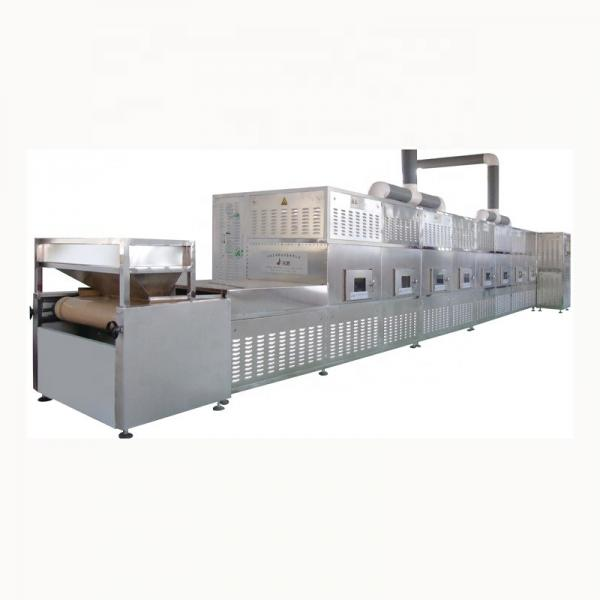Continous working microwave industrial glass pigment drying equipment #3 image