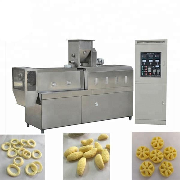 Snack bar twin screw extruder prices puffed corn chips snacks food making machine puff snack food extrusion machine price #2 image