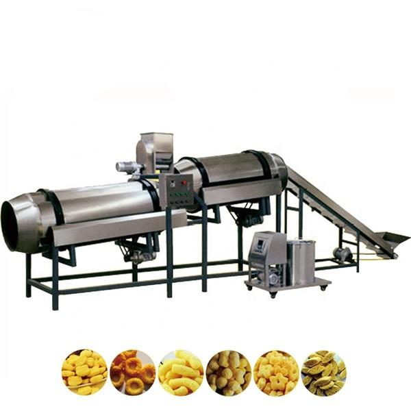 Fully Automatic Puffed Corn Snack Making Machine 26*2*4m Dimension With Mixer #1 image