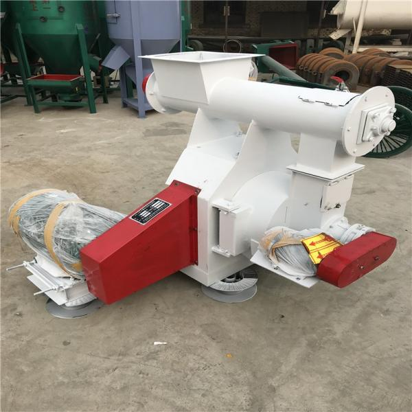 Lower Price Ring Die Fish Feed Making Machine/Poultry Feed Pellet Mill #3 image