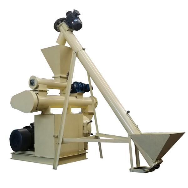 Lower Price Ring Die Fish Feed Making Machine/Poultry Feed Pellet Mill #1 image