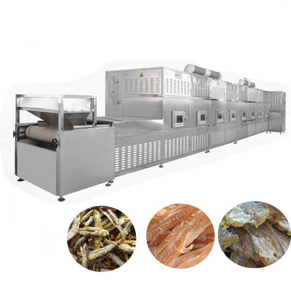 Continous working microwave industrial glass pigment drying equipment #1 image