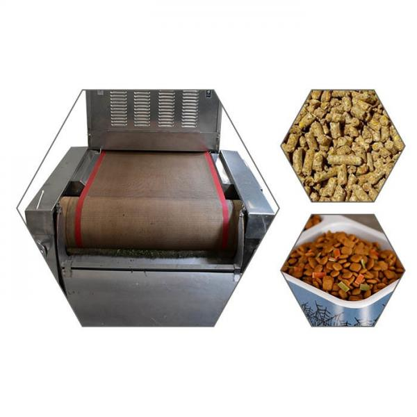 Large Industrial Continuous Microwave Drying Equipment with Belt Conveyor #3 image